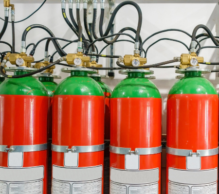 Fire Suppression Systems: Fraser, MI | Fire Extinguisher Service & Sales - fire-suppression-system-tanks
